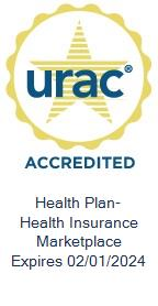 URAC Health Plan with Health Insurance Marketplace (HIM) Accredited Expires 02/01/2018
